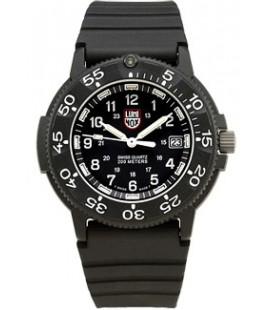 LUMINOX ORIGINAL 3000 (43mm) NEGRO GOMA