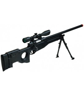 REPLICA UTG NEGRO SHADOW SNIPER NEGRO AIRSOFT