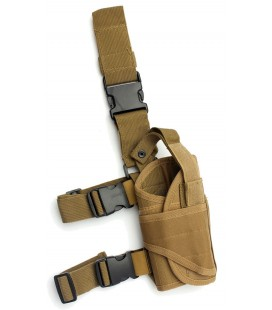 FUNDA PISTOLA TACTICA TAN AJUSTABLE