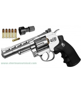 "ASG DAN WESSON 4"" CROMO CO2 AIRSOFT"
