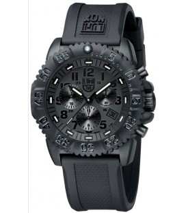 LUMINOX NAVY SEAL BLACKOUT CRONO NEGRO