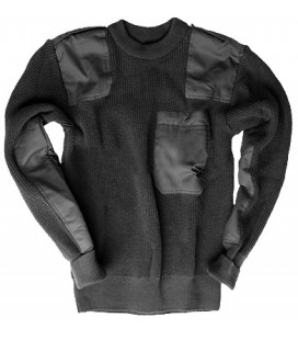 JERSEY PULLOVER NEGRO