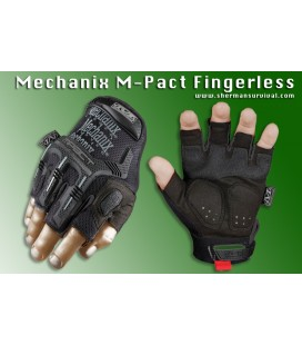 MECHANIX M-PACT FINGERLESS NEGRO
