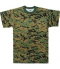 CAMISETA CAMO DIGITAL WOODLAND