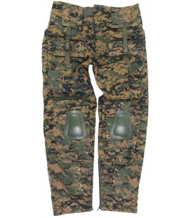 PANTALON WARRIOR DIGITAL WOODLAND