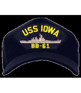 GORRA USS IOWA BB-61