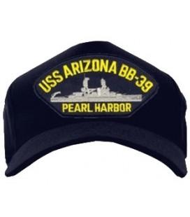 GORRA USS ARIZONA BB-39 PEARL HARB