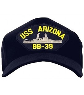 GORRA USS ARIZONA BB-39