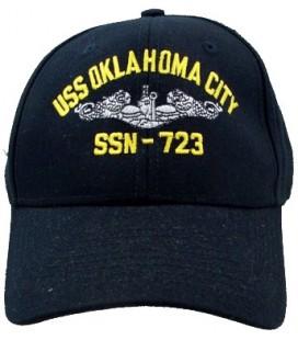 GORRA USS OKLAHOMA CITY SSN-723