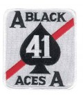 PARCHE BLACK ACES 41 4,25""
