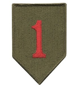 1ST INFANTRY BIG RED ONE SUBDUED