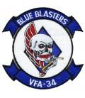 "VFA-34 BLUE BLASTERS 4"""