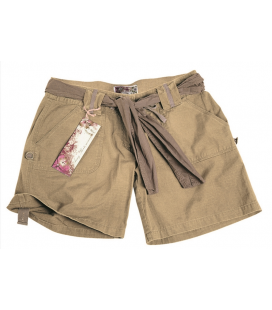 SHORT ARMY WOMAN KHAKI