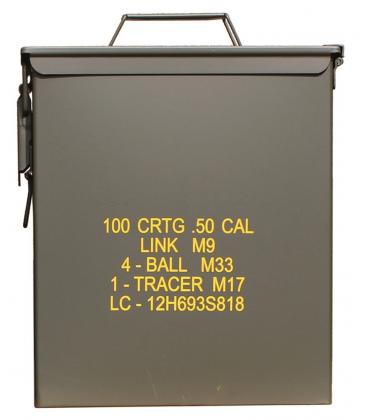 CAJA MUNICION M9 CAL 50 LGE