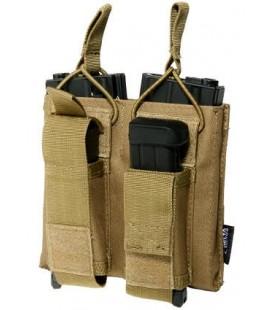PORTACARGADOR DOBLE M4/AK TAN DELTA TACTICS