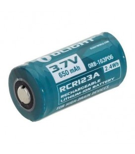 OLIGHT PILA RECARGABLE RCR123A 3,7v