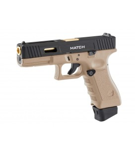 STARK ARMS S17 MATCH TAN CO2 AIRSOFT