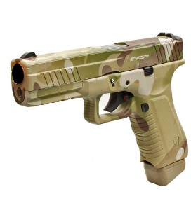 APS ACP PISTOL MULTICAM FACELIFT ACP601MC CO2 AIRSOFT