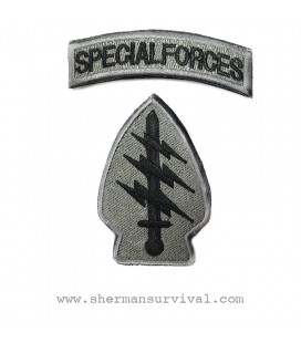 PARCHE SPECIAL FORCES GRIS (PAR) G003-049-GREY