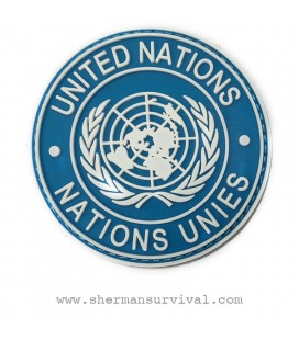 PARCHE PVC UNITED NATIONS G002-037-BLUE