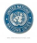 PARCHE PVC UNITED NATIONS G002-037-BLUE