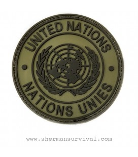 PARCHE PVC UNITED NATIONS TAN G002-037-TAN
