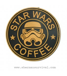 PARCHE PVC STAR WARS COFFEE YELLOW G002-043-YELLOW
