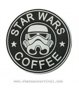 PARCHE PVC STAR WARS COFFEE BLANCO G002-043-WHITE