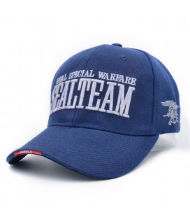 GORRA BASEBALL SEAL TEAM AZUL