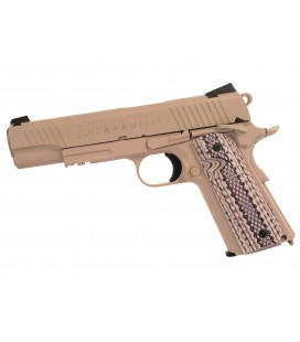 CYBERGUN COLT 1911 RAIL FULL METAL CO2 DESERT