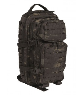MOCHILA ASSAULT LASER CUT MULTICAM NEGRO SM
