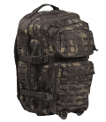 MOCHILA ASSAULT LASER CUT MULTICAM NEGRO LG
