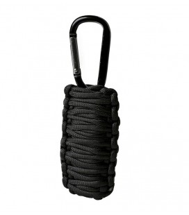 PARACORD SURVIVAL KIT SM NEGRO