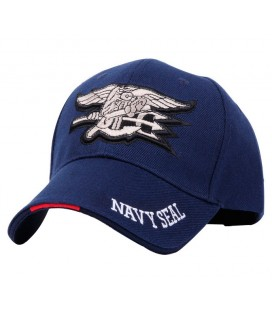 GORRA BASEBAL NAVY SEAL AZUL