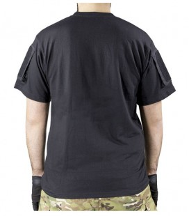CAMISETA INSTRUCTOR NEGRA DELTA TACTICS