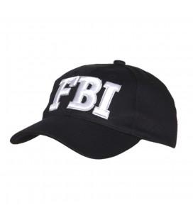 GORRA FOSTEX NEGRA FBI
