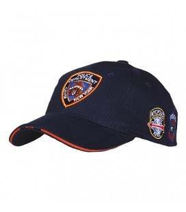 GORRA FOSTEX AZUL NYPD