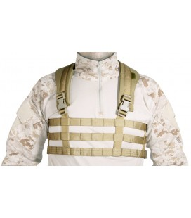 CHEST RIG ULTRA LIGHT TAN GERONIMO