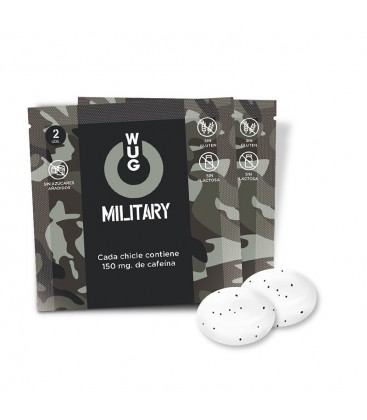 CHICLE WUG MILITARY (2uds)