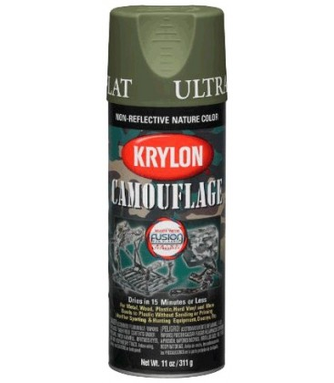 SPRAY KRYLON WOODLAND LIGHT GREEN 400ml