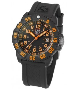 LUMINOX NAVY SEALS NARANJA GOMA