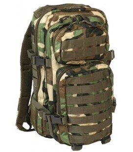MOCHILA ASSAULT PACK SM WOODLAND 30L.