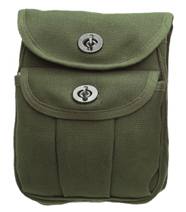 H.W.CANVAS AMMMO POUCH-2 VERDE OD