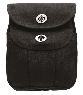H.W.CANVAS AMMO POUCH-2 NEGRO