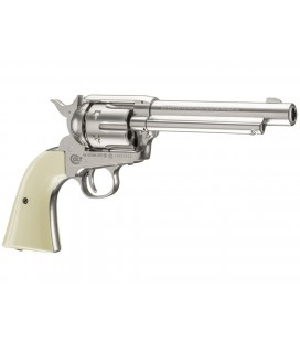 REVOLVER UMAREX COLT PEACEMAKER BLANCO CO2 4,5mm