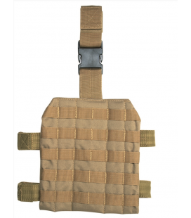 LEG PANEL TACTICO MOLLE COYOTE