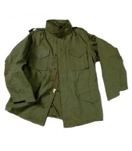 M-65 FIELD JACKET VERDE OD ALPHA