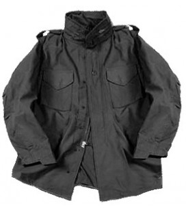 M-65 FIELD JACKET NEGRO ALPHA