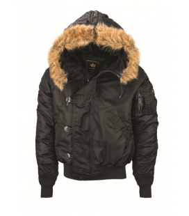 PARKA N2B ALPHA BLACK