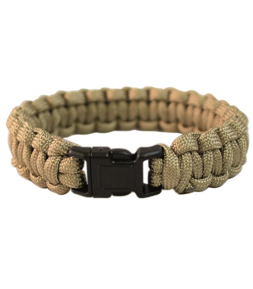 PULSERA PARACORD 22mm COYOTE S